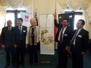 Tianjin Leaders in Melbourne welcome Oct 2013