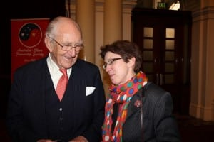 Malcolm Fraser and Kate Ritchie talking about China